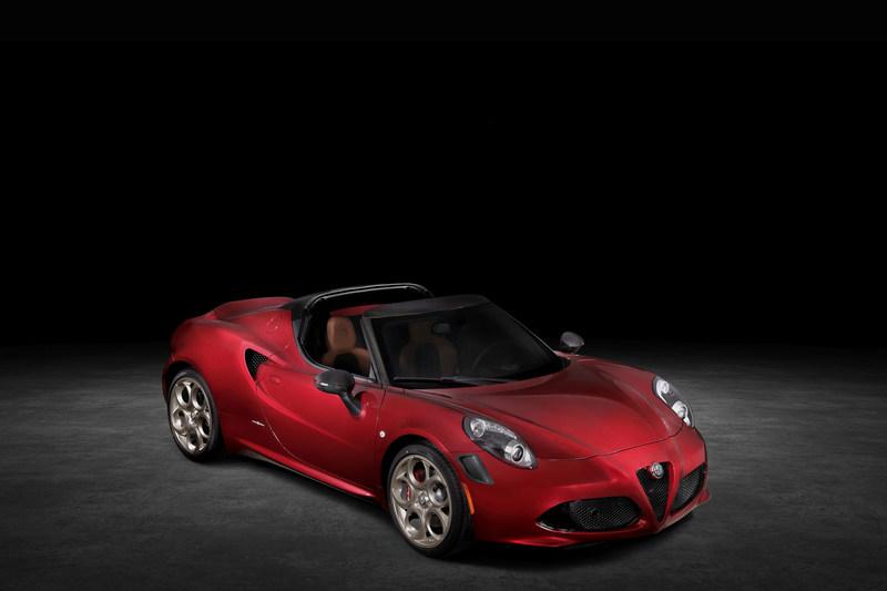 Alfa,Romeo,Alfa Romeo,Announces,4C Spider,4C,Spider,33,Stradale,Tributo,Homage,Legend,AUBURN,HILLS