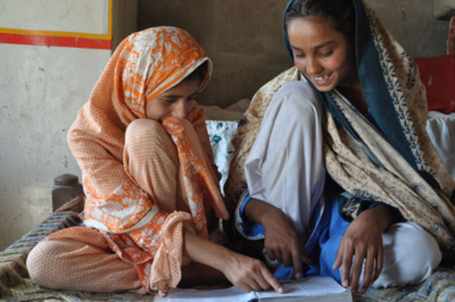©Save the Children Pakistan (CNW Group/IKEA Canada)