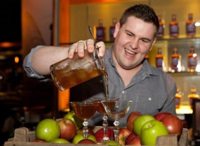 Shane Mulvany from Toronto's own Bar Alo has been selected to represent Canada at the global final of the 11th biennial Havana Club Cocktail Grand Prix. (CNW Group/Corby Spirit and Wine Communications)
