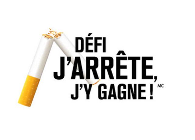DEFI J'ARRETE, J'Y GAGNE ! (Groupe CNW/DEFI J'ARRETE, J'Y GAGNE !)