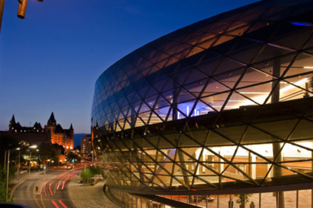 The Forum will be held at newly constructed Ottawa Convention Centre on February 29th. Take the Leap! (Photo OCC) (CNW Group/Canadian Public Relations Society - Ottawa-Gatineau Chapter)