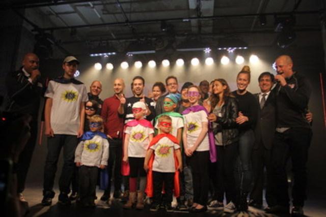 Hier se déroulait le lancement de la 15e édition du 24h de Tremblant à la Société des arts technologiques de Montréal. Plusieurs personnalités de la scène culturelle et artistique ainsi que les enfants parrainés par l'événement se sont joints aux skieurs, marcheurs et coureurs qui participeront à cette importante collecte de dons au profit des enfants. (Groupe CNW/24h de Tremblant)