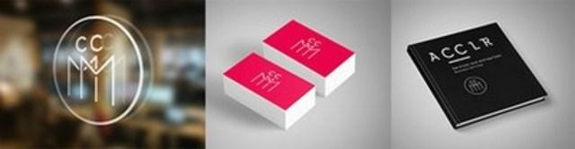 La Chambre de commerce du Montréal métropolitain (CCMM) dévoile sa toute nouvelle image de marque. De nouveaux logos, des couleurs vives, un site Web actualisé et la création d'une toute nouvelle marque appelée Acclr – service aux entreprises. (Groupe CNW/Chambre de commerce du Montréal métropolitain)
