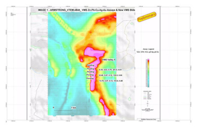 IMAGE 1 (CNW Group/Wolfden Resources Corporation)