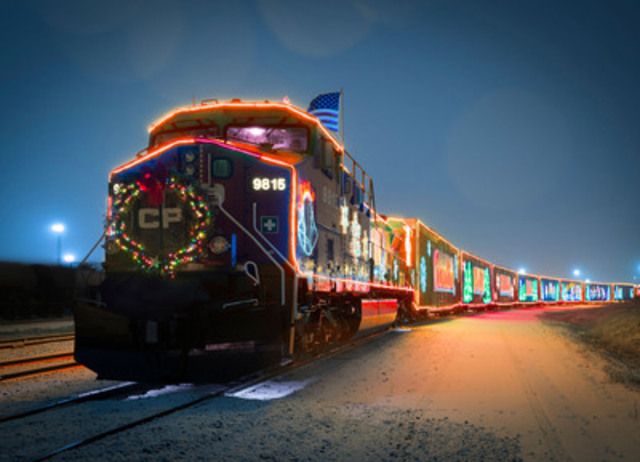 Canadian Pacific Holiday Train (CNW Group/Canadian Pacific)