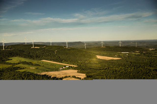 Frampton Community Wind Farm (CNW Group/Boralex Inc.)