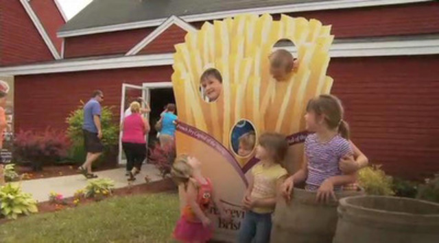 Video:Florenceville-Bristol, NB, French fry capital of the world, celebrates National French Fry day in style