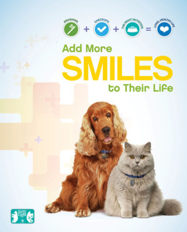 Pet Dental Health Awareness (CNW Group/Hill's Pet Nutrition Canada Inc.)