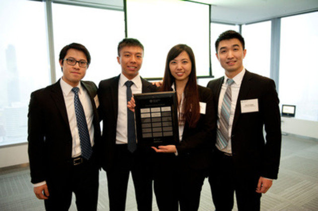 University of Waterloo Local Champions (CNW Group/CFA Society Toronto)