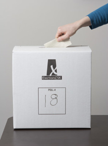 April 4 is Election Day in Saskatchewan (CNW Group/Elections Saskatchewan)