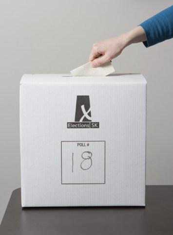 April 4 is Election Day in Saskatchewan (CNW Group/Elections Saskatchewan)