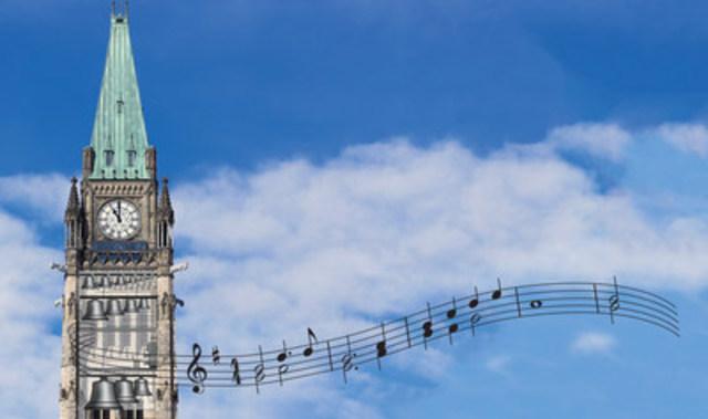 Concours de compositions pour carillon à l'occasion du 150e anniversaire du Canada - À vos cloches, Canada! (Groupe CNW/Chambre des communes)