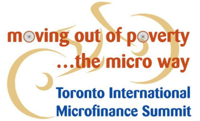 Toronto International Microfinance Summit  (CNW Group/Toronto International Microfinance Summit)