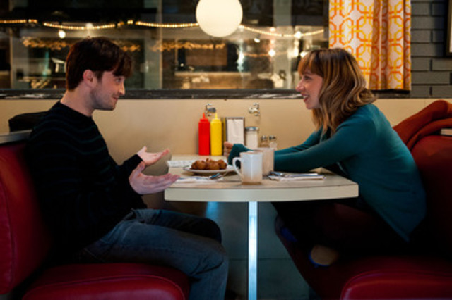 Daniel Radcliffe & Zoe Kazan star in THE F WORD opening August 1 (CNW Group/Entertainment One)