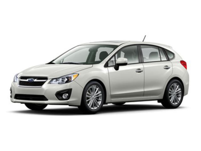 Subaru présente la toute nouvelle Impreza 2012. (Groupe CNW/Subaru Canada Inc.)