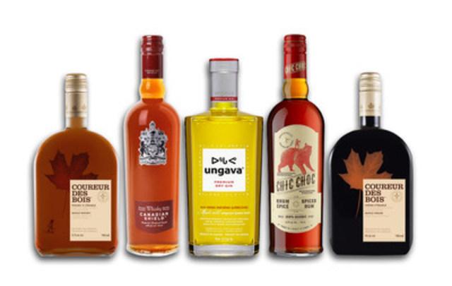 La transaction touche le portefeuille de spiritueux de Domaines Pinnacle, composé de marques canadiennes emblématiques telles que le gin haut de gamme Ungava®, le rhum épicé Chic Choc® et les liqueurs à base de produits de l'érable Coureur des Bois® et Cabot Trail®. (Groupe CNW/Corby Spiritueux et vins Communications)