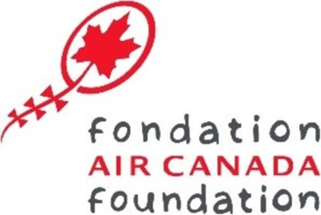 Logo : Fondation Air Canada (Groupe CNW/Fondation Air Canada)