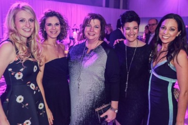 The board of directors of Dress for Success Montreal (from left to right Dominique Perron (PSP Investments), ...