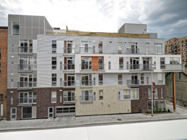 Multi-Unit Wood Design Award Winner: Project: 360 Lofts Condominium, Ottawa; Architect: Farrow Dreessen Architect Inc. (successor firm to Dreessen Architect) - Engineer: AAR (CNW Group/Ontario Wood WORKS!)