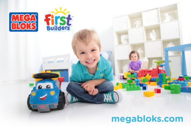 MEGA BLOKS SHOWCASES PRODUCT INNOVATION AND POWERHOUSE BRANDS AT THE 2014 AMERICAN INTERNATIONAL TOY FAIR (CNW Group/MEGA Brands Inc.)