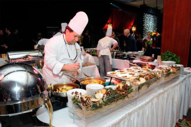 Icewine Gala Culinary Experience. (CNW Group/Wine Country Ontario)