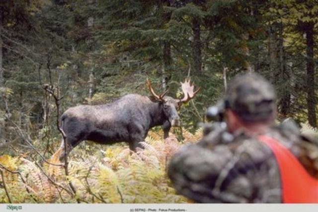 Les vastes territoires de chasse exclusifs de la Sépaq sont rendus plus accessibles pour des réservations de dernière minute. (Groupe CNW/Société des établissements de plein air du Québec)