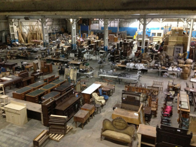 "Auction of props and set for TV's ""Copper"" (CNW Group/403 AUCTION)"