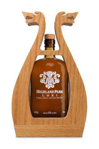 La bouteille Highland Park Loki (Groupe CNW/BEAM Global Canada Inc.)