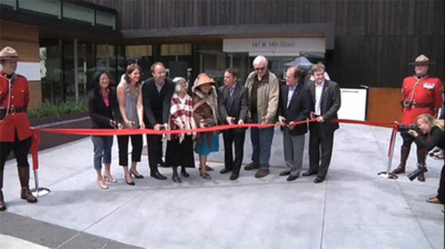 Video: City of North Vancouver Civic Centre Renovation public celebration event.