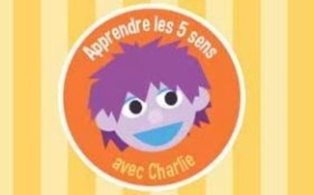 App Apprendre les 5 sens avec Charlie (CNW Group/Groupe Média TFO)