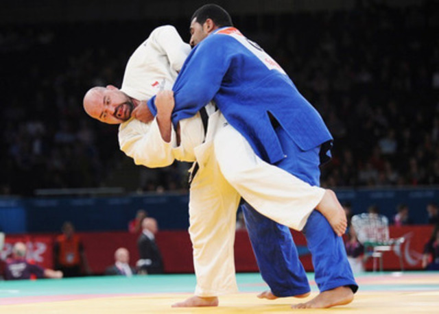 Judo Canada has selected four athletes for nomination to represent Canada at the Toronto 2015 Parapan American Games in visually-impaired judo, including Ottawa's Tony Walby, a veteran judoka in the 100+kg division who won a bronze medal at the Guadalajara 2011 Parapan American Games. Photo: Canadian Paralympic Committee  (CNW Group/Canadian Paralympic Committee (CPC))
