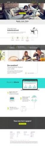 Page d'accueil Sonnet – Français (Groupe CNW/Sonnet)