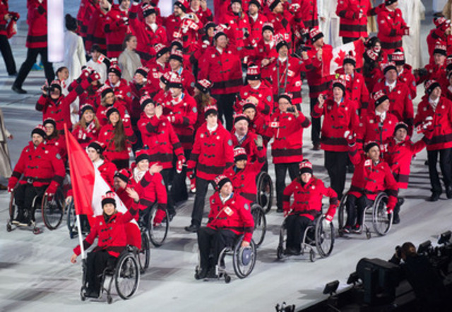 It was one-year ago that the world gathered in Sochi, Russia for the 2014 Paralympic Winter Games. They were memorable Games for Team Canada, who finished ranked third in the medal standings with seven gold medals, two silver and seven bronze. (CNW Group/Canadian Paralympic Committee (CPC))