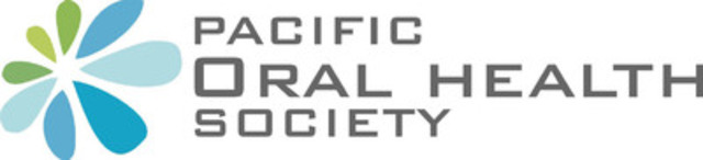 The Pacific Oral Health Society's logo represents the ripple effect of knowledge that inspires dental professionals to make a positive impact in our Community. (CNW Group/Pacific Oral Health Society)
