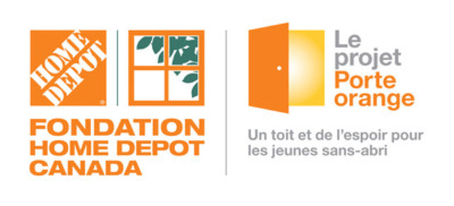 Le projet Porte orange (Groupe CNW/The Home Depot Canada)