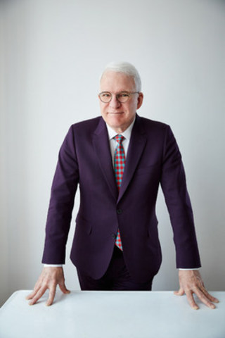 Legendary comedian, actor, writer, producer and musician Steve Martin will appear in conversation with Adam Gopnik (The New Yorker) at Contemporary Calgary's LOOK2016, the premier fundraising event for Calgary's new gallery for modern and contemporary art. LOOK2016 will take place October 22, 2016 in the soon-to-be-transformed Centennial Planetarium in Calgary, AB. Photo by Danny Clinch. (CNW Group/Contemporary Calgary)