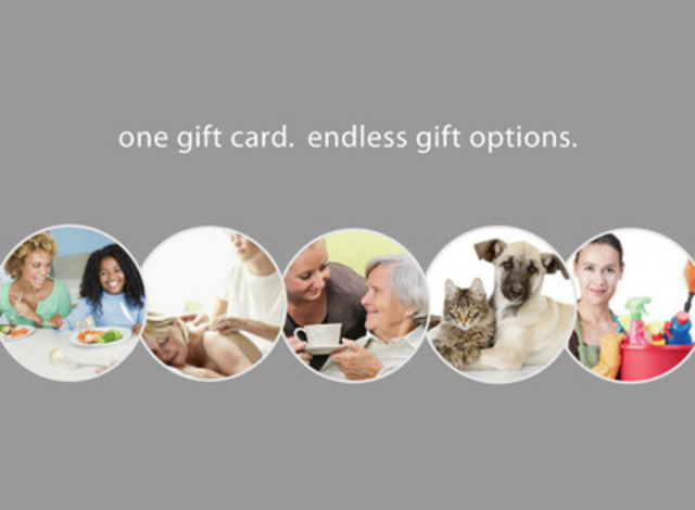 giveluvgiftcards.com provides a one-stop online gift shop featuring everyday services: healthy meals, house cleaning, massage, dog walking, senior care and more. GiveLuv Gift Cards improves the way Canadians gift for new baby, get well, sympathy, house warming, seniors - or, any occasion where a helping hand can make life easier. (CNW Group/Mamaluv Enterprises Inc.)