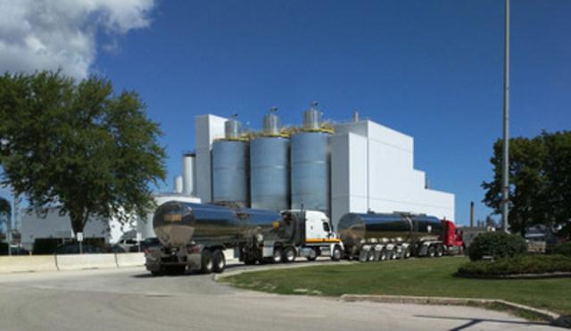 BioAmber Sarnia, World's Largest Succinic Acid Plant (CNW Group/BioAmber Inc.)