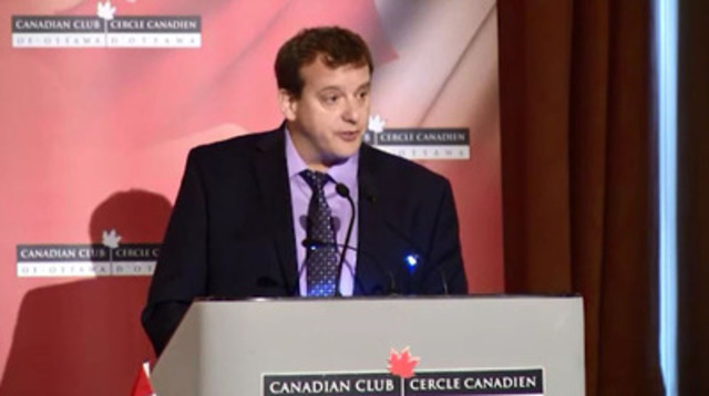 Video: Address given by Dr. Christopher Simpson, President of the Canadian Medical Association at the Canadian Club of Ottawa, Nov. 18, 2014 on seniors care - Part 4