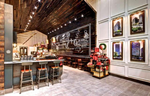 Starbucks ouvre avec fierté un 100e magasin au Québec (Groupe CNW/Starbucks Coffee Canada)
