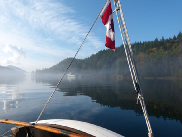 Gambier Island, Howe Sound, British Columbia (Photo credit: Duart Snow/Canadian Yachting West) (CNW Group/Discover Boating Canada)