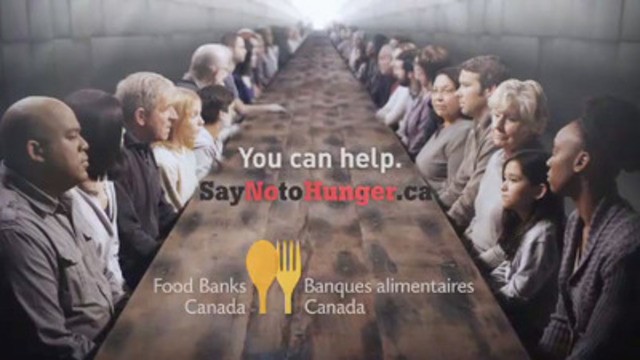 Video: Say No to Hunger.  Food Banks Canada's PSA