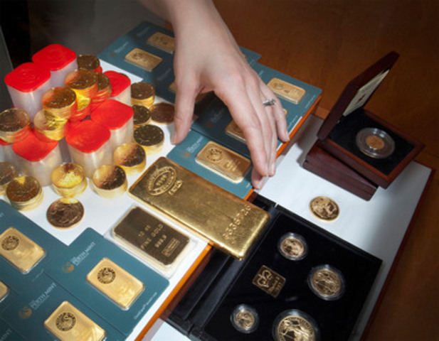 With more than 20,000 gold and silver bullion products and collector coins for sale, Canadian PMX's new gallery showroom in Richmond Hill, Ontario. offers a wide variety of top-quality precious metals in Canada. (CNW Group/Canadian PMX)
