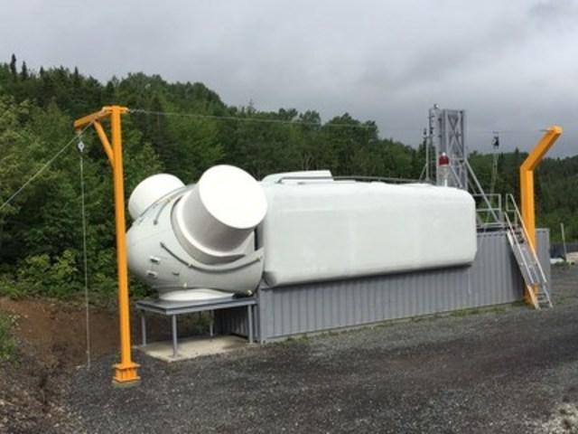 Centre de sauvetage Cartier énergie éolienne (Groupe CNW/Cartier énergie éolienne)
