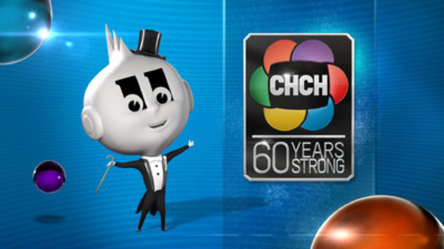 CHCH brings back the station's first mascot Mr. Eleven who made his debut in 1957. He's coming out of retirement for the station's 60th anniversary in 2014. (CNW Group/Channel Zero Inc.)