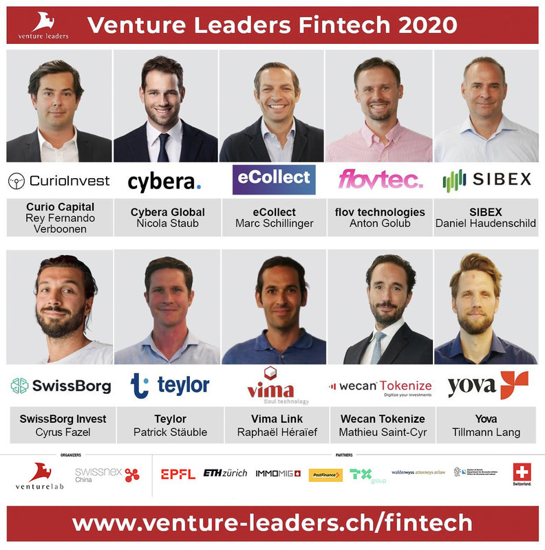 10 Swiss Fintech Startups Get Ready to Accelerate Their Growth in Asia with Venture Leaders