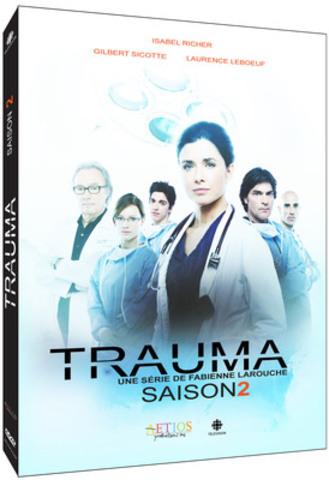 La deuxième saison de la série Trauma est maintenant disponible en DVD et sur iTunes (Groupe CNW/SOCIETE RADIO-CANADA)
