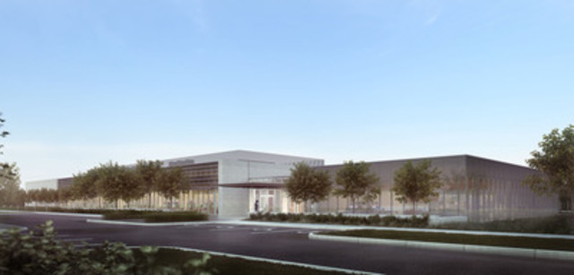 Digital rendering of Imperial's new oil sands research centre in southeast Calgary (CNW Group/Imperial Oil Limited)