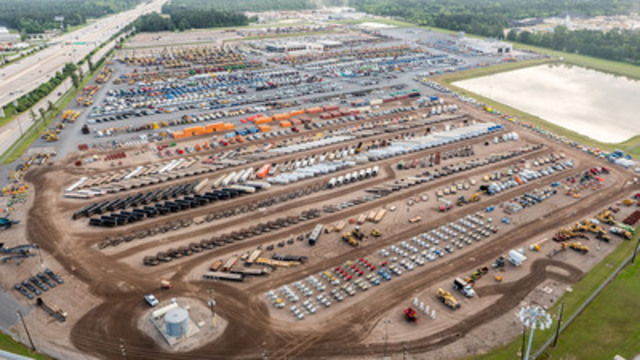 Ritchie Bros. sells US$57+ million of equipment and trucks in Houston, TX auction (CNW Group/Ritchie Bros. Auctioneers)