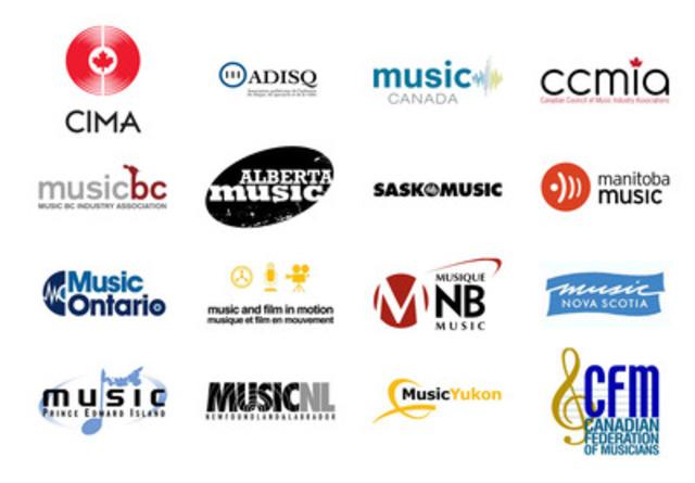 Les artistes et les producteurs de disques appuient la demande de révision judiciaire de Ré:Sonne concernant la décision sur le tarif no 8 de la Commission du droit d'auteur du Canada (Groupe CNW/Music Canada)
